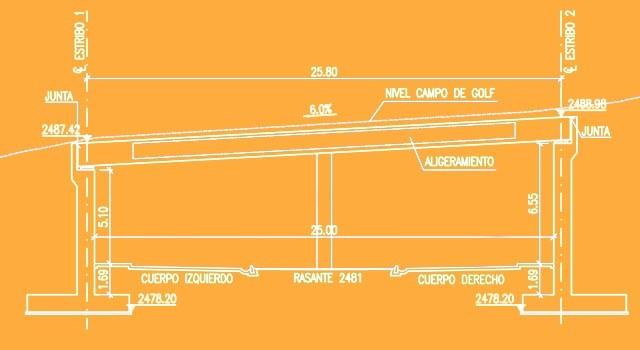 TUNEL PISTA 4 Y PASO DESNIVEL, CLUB DE GOLF BOSQUE REAL – Huixquilucan, Edo. de México